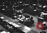 Image of war crimes trial Tokyo Japan, 1947, second 32 stock footage video 65675061887