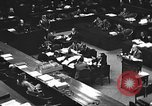 Image of war crimes trial Tokyo Japan, 1947, second 34 stock footage video 65675061887