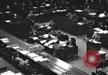 Image of war crimes trial Tokyo Japan, 1947, second 36 stock footage video 65675061887