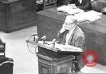 Image of war crimes trial Tokyo Japan, 1947, second 1 stock footage video 65675061888