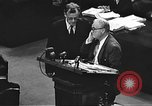 Image of war crimes trial Tokyo Japan, 1947, second 28 stock footage video 65675061888