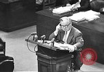 Image of war crimes trial Tokyo Japan, 1947, second 30 stock footage video 65675061888
