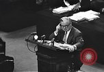 Image of war crimes trial Tokyo Japan, 1947, second 37 stock footage video 65675061888