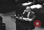 Image of war crimes trial Tokyo Japan, 1947, second 40 stock footage video 65675061888