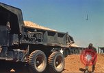 Image of construction of highway Vietnam, 1969, second 25 stock footage video 65675062014