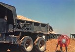Image of construction of highway Vietnam, 1969, second 26 stock footage video 65675062014