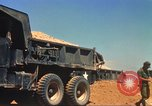 Image of construction of highway Vietnam, 1969, second 28 stock footage video 65675062014