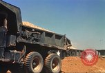 Image of construction of highway Vietnam, 1969, second 30 stock footage video 65675062014