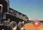 Image of construction of highway Vietnam, 1969, second 32 stock footage video 65675062014