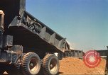 Image of construction of highway Vietnam, 1969, second 34 stock footage video 65675062014