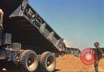 Image of construction of highway Vietnam, 1969, second 36 stock footage video 65675062014