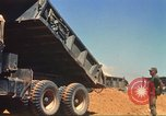 Image of construction of highway Vietnam, 1969, second 37 stock footage video 65675062014