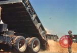 Image of construction of highway Vietnam, 1969, second 39 stock footage video 65675062014