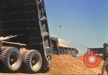 Image of construction of highway Vietnam, 1969, second 46 stock footage video 65675062014