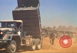 Image of construction of highway Vietnam, 1969, second 52 stock footage video 65675062014