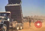 Image of construction of highway Vietnam, 1969, second 53 stock footage video 65675062014