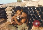 Image of 1st Infantry Division Lai Khe South Vietnam, 1968, second 7 stock footage video 65675062037