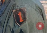 Image of 1st Infantry Division Lai Khe South Vietnam, 1968, second 52 stock footage video 65675062037