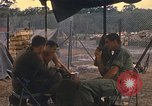 Image of United States officers Vietnam, 1970, second 15 stock footage video 65675062044