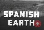 Image of Parched farmland in Spain Spain, 1937, second 13 stock footage video 65675062077