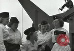 Image of United States Navy nurses Guadalcanal Solomon Islands, 1944, second 21 stock footage video 65675062179