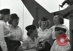 Image of United States Navy nurses Guadalcanal Solomon Islands, 1944, second 22 stock footage video 65675062179