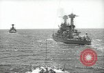 Image of United States battleships in column formation Hampton Roads Virginia USA, 1939, second 19 stock footage video 65675062203