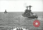 Image of United States battleships in column formation Hampton Roads Virginia USA, 1939, second 20 stock footage video 65675062203