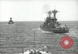 Image of United States battleships in column formation Hampton Roads Virginia USA, 1939, second 21 stock footage video 65675062203