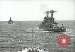 Image of United States battleships in column formation Hampton Roads Virginia USA, 1939, second 22 stock footage video 65675062203
