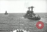 Image of United States battleships in column formation Hampton Roads Virginia USA, 1939, second 23 stock footage video 65675062203
