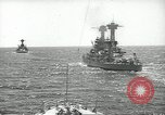 Image of United States battleships in column formation Hampton Roads Virginia USA, 1939, second 24 stock footage video 65675062203