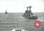 Image of United States battleships in column formation Hampton Roads Virginia USA, 1939, second 25 stock footage video 65675062203