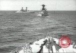 Image of United States battleships in column formation Hampton Roads Virginia USA, 1939, second 26 stock footage video 65675062203