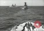 Image of United States battleships in column formation Hampton Roads Virginia USA, 1939, second 28 stock footage video 65675062203