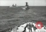 Image of United States battleships in column formation Hampton Roads Virginia USA, 1939, second 29 stock footage video 65675062203