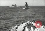 Image of United States battleships in column formation Hampton Roads Virginia USA, 1939, second 30 stock footage video 65675062203
