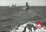 Image of United States battleships in column formation Hampton Roads Virginia USA, 1939, second 31 stock footage video 65675062203
