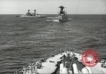 Image of United States battleships in column formation Hampton Roads Virginia USA, 1939, second 32 stock footage video 65675062203