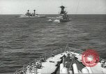 Image of United States battleships in column formation Hampton Roads Virginia USA, 1939, second 34 stock footage video 65675062203