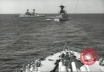 Image of United States battleships in column formation Hampton Roads Virginia USA, 1939, second 35 stock footage video 65675062203