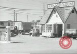 Image of gasoline station Oklahoma United States USA, 1947, second 2 stock footage video 65675062208