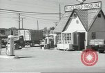 Image of gasoline station Oklahoma United States USA, 1947, second 3 stock footage video 65675062208