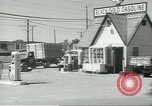 Image of gasoline station Oklahoma United States USA, 1947, second 4 stock footage video 65675062208