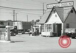Image of gasoline station Oklahoma United States USA, 1947, second 6 stock footage video 65675062208