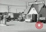 Image of gasoline station Oklahoma United States USA, 1947, second 8 stock footage video 65675062208