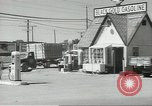 Image of gasoline station Oklahoma United States USA, 1947, second 10 stock footage video 65675062208