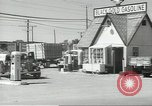 Image of gasoline station Oklahoma United States USA, 1947, second 14 stock footage video 65675062208