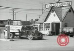 Image of gasoline station Oklahoma United States USA, 1947, second 16 stock footage video 65675062208