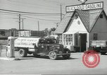 Image of gasoline station Oklahoma United States USA, 1947, second 17 stock footage video 65675062208